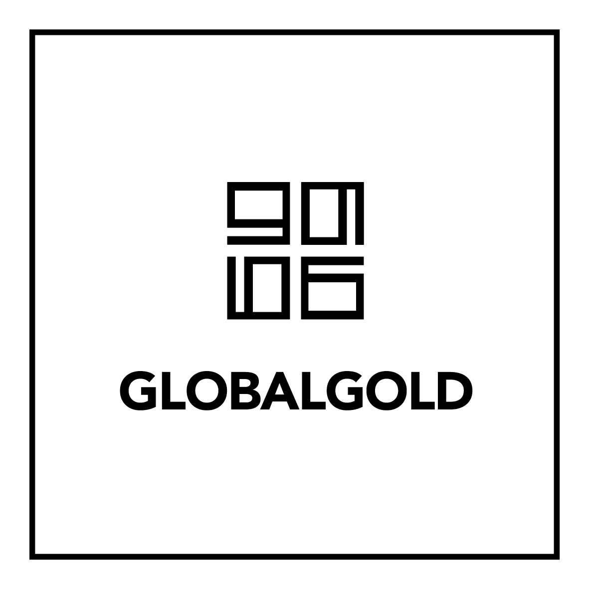 Global Gold Logo schwarz